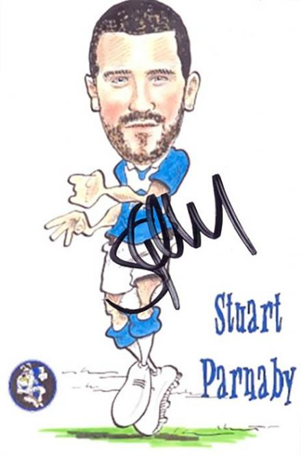 Stuart Parnaby, Birmingham City, signed 6x4 inch photo.